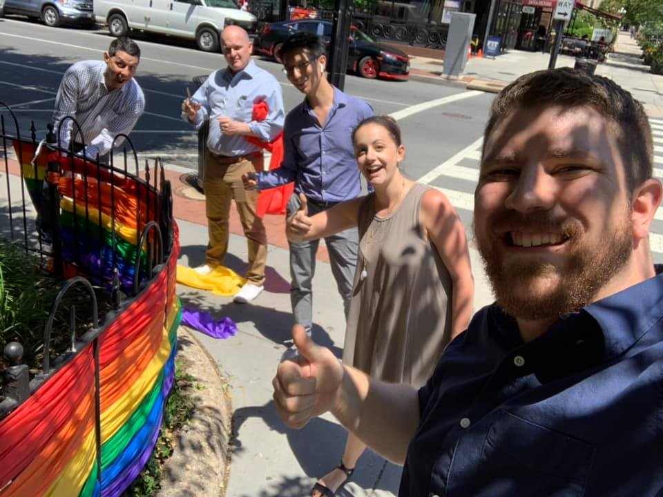C21 Redwood Realty DC Pride Decorating 2019