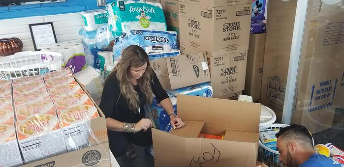 Redwood Gives Back Hurricane Florence Relief_5